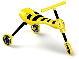 Mookie Toys 8541 - Correpasillos, diseño de Abeja, Color Amarillo y Negro