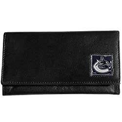 NHL Vancouver Canucks Genuine Leather Women's Wallet