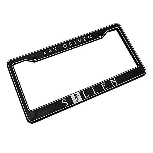 Preisvergleich Produktbild Sullen Unisex Art Driven License Plate Frame Black