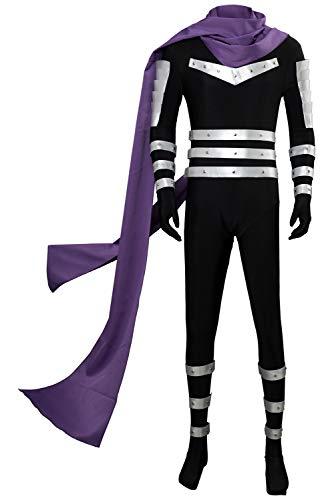 MingoTor ONE Punch-Man Speed Sonic Jumpsuit Cosplay Kostüm Herren XXL