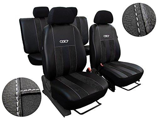 POKTER-GT Sitzbezüge, Beste Qualität, FIRSTCLASS Designe GT in Kunstleder mit Alkantra für SX4 S-Cross ab 2013 Erhältlich in 9 Farben !! (Kunstleder Cross)