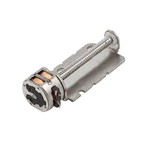 16mm x 2mm Schraubenwelle 2 Draht der Phase 4 Micro-Schritt-Schrittmotor DC 3-6V -
