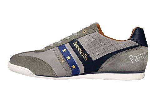 Pantofola d'Oro VASTO Uomo Low Sneaker in Übergrößen Grau 10191037.3JW/10191067.3JW große Herrenschuhe, Größe:50