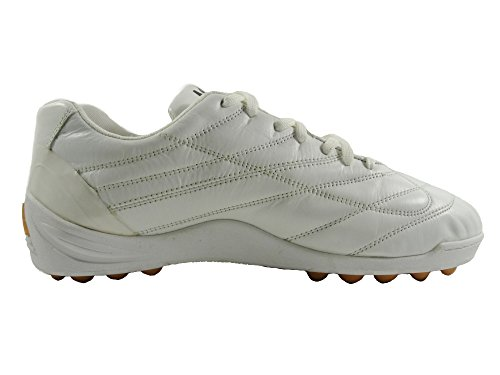 FANTHOM Professional con Bianco Pelle Scarpe Shock Anti Calcetto Outdoor in Air AGLA wS5d4qw