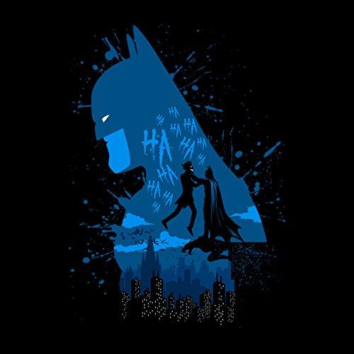 Dark Knight Batman And Joker Men's Vest Black