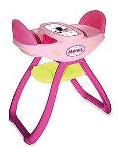 smoby 024143 accessoire pour poup e chaise haute jumeaux minnie jeux et jouets. Black Bedroom Furniture Sets. Home Design Ideas