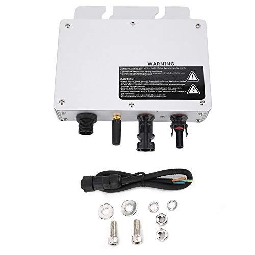 Solar Wechselrichter, Wechselrichter mit Netzanschluss Mikro-Wechselrichter Solar Power Grid Tie Micro Wechselrichter, Spannung 80-160VAC / 180-280VAC -