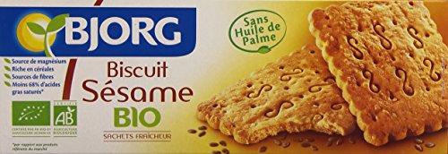 Bjorg Biscuits Sésame Bio 184 g