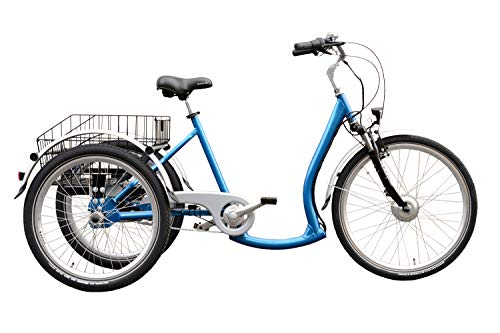 "Wild Eagle Elektrodreirad 26/24\"" ECO Made in Germany blau"