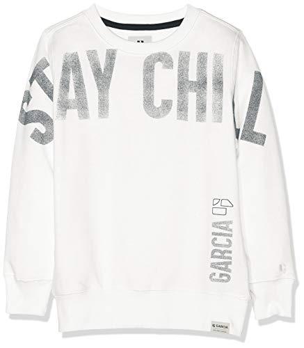 Garcia Kids Jungen Sweatshirt B93660 Weiß (Broken White 304) 152