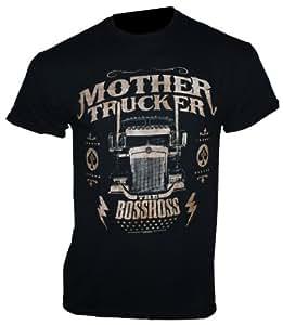 The Bosshoss - T-Shirt MOTHER TRUCKER Gr. L - Bandshirt