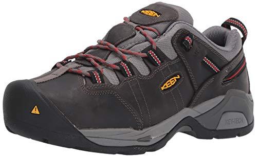 huge discount 34076 0425f KEEN Utility Men's Detroit XT (Steel Toe) Internal Met Guard Work Boot for  Construction Industrial Grey/Bossa Nova, 8 2E US