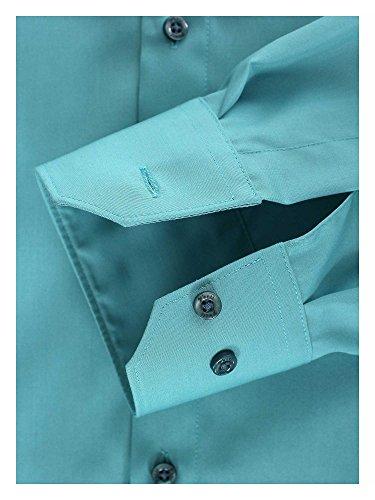 Venti Herren Businesshemd Auch Große Größen 100% Baumwolle Blau