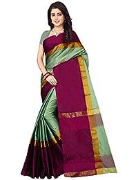 626c814fa15b0 Shree Ram Krishna Cotton Silk Plain Saree With Blouse Piece-Pink
