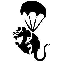 Panda Waffen PANDAMONIUM wiederverwendbar Heim Dekoration /& Kunst Handwerk Malerei Schablone L//37X37CM semi-transparent Schablone Banksy Schablone