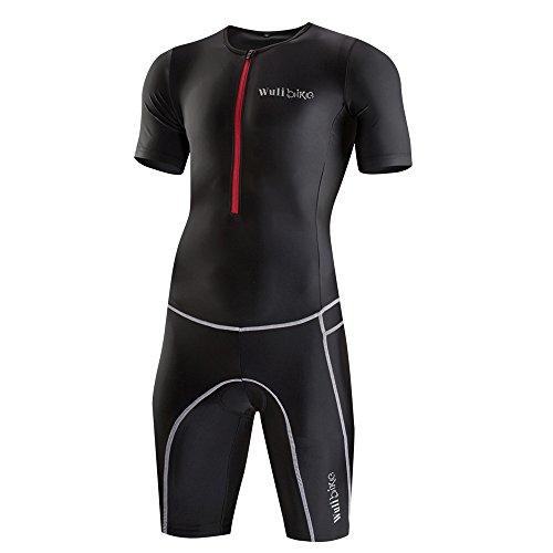 logas Combinaison Trifonction Homme Vêtement Triathlon Natation Manche Courte