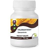 Puro Valeriana Raíz Extracto Concentrado Natural Hierba Salud Suplemento Alimenticio Vitaminas 30/60/90
