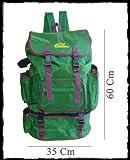 Pescasubito.com zaino verde con borsa termica grande porta canne pesca caccia surfcasting
