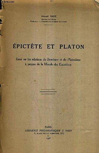 Epictète et Platon