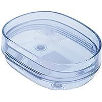 ssby-deluxe ovale, far proprio conto di acqua, Porta sapone in plastica, scatole, scatole di sapone, sapone Scatole days blue