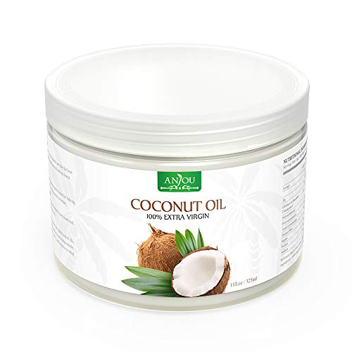 Anjou Huile Noix de Coco 325mL, Ingredients 100%...