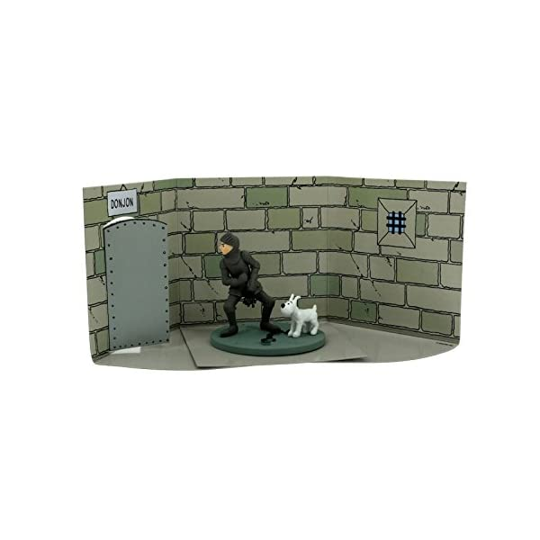 Moulinsart Figura/Cofre de colección Tintín armudara con Milú 43105 (2010) 2