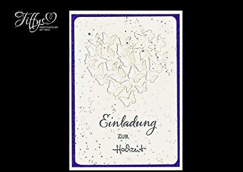 te - Einladung zur Hochzeit Schmetterlinge - ()