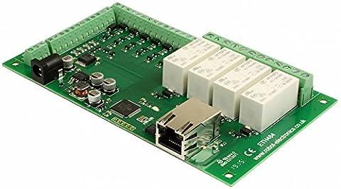 eth484–4x 16A Relais Ethernet