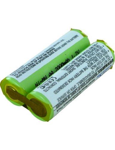 Batterie pour PHILIPS HQ5830, 2.4V, 2000mAh, Ni-MH