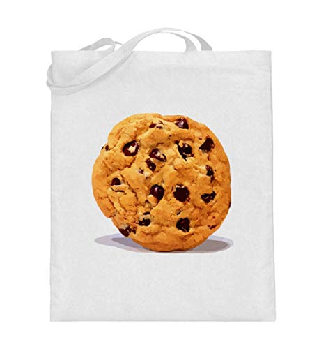 Lustiges Chocolate Cookie Keks Schokoladen Kekse Halloween DIY Gruppen Geschenk T-shirt - Jutebeutel (mit langen Henkeln)
