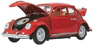 Jamara- VW Käfer Vehículos de Control Remoto, Color Rojo (405110)