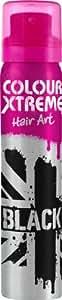 Colour Xtreme Hair Art Spray Black 75ml