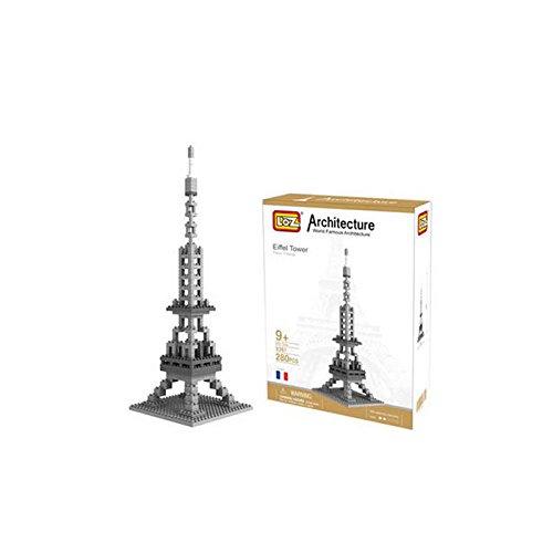 iBlock Fun–Blöcke BAU Miniatur LOZ–Eiffelturm