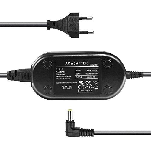 kj-vertrieb Netzteil - 8,4V 1A - Stecker 4,7 x 2,0mm - für Panasonic DMW-AC7, Lumix DMC-FZ50, DMC-FZ30, DMC-GH2 Ac7 Dmw Ac Adapter