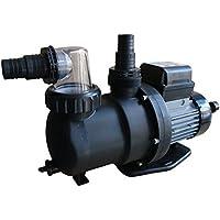 Steinbach Sandfilteranlagenzubehör Filterpumpe SPS100-1, Schwarz, 158 l/min / 550 W / 230 V