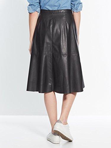 Balsamik - Jupe longue en faux cuir - femme Noir