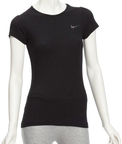 Tee shirt Do T Essencial Preto Ss Estilo Meninas Metálica Nike Prata wqUE0ZW
