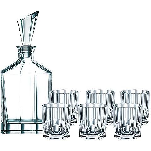 Nachtmann Aspen - Servicio de whisky (7 piezas)