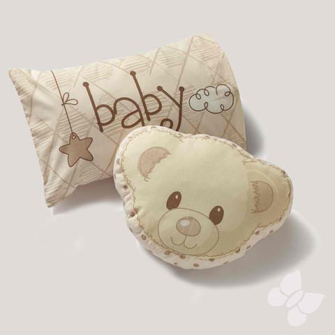 Kitty4U Andy Bear Sham And Cushion 3 Piece Set