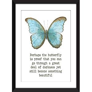 Vielleicht ist der Schmetterling Proofdruck - A3 / A4 / A5 11