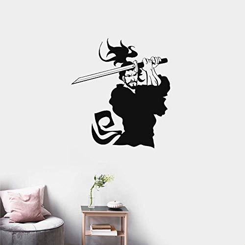 Sticker Samurai Decal Japan Ninja Poster Art