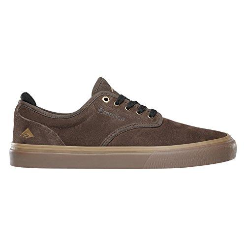 Emerica Herren Wino G6 Black Skateboardschuhe Brown/Brown/Gum