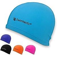 Swimtastic Moderno Gorro de Natación de Lycra – 5 Colores a Elegir