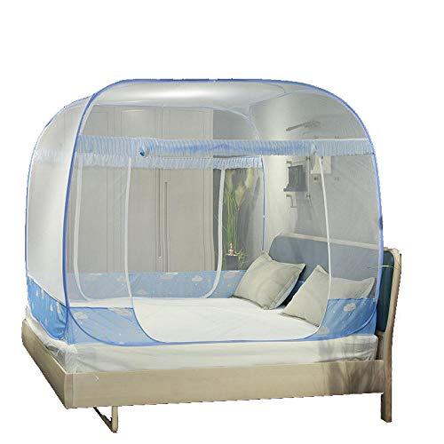 LLSTRIVE Moskito Schutz-Zelt,Moskito-Zelt freistehend, automatisches Moskitonetz, freie Installation, großer Raum, hohe Dichte, Drahtnetz Moskitonetz @ cat_200 * 220 cm