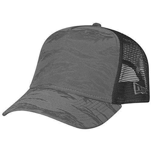 New Era Adjustable Trucker Cap - 3D Camo Charcoal Camo Mesh-back Baseball Kappe