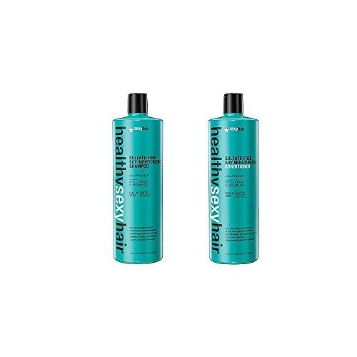 Sexy Moisturizing Conditioner (Healthy Sexy Hair Sulfate-Free Soy Moisturizing Shampoo and Conditioner Liter Duo by Sexy Hair)