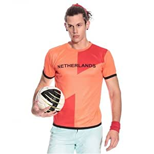 T10 Sports Men's Netherlands Fan Jersey XS - Orange
