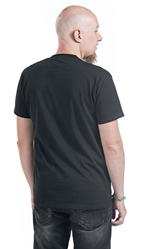 Smoking T-Shirt schwarz Schwarz