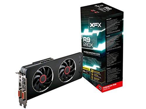 XFX R9 280X Grafikkarte (PCI-e, 3GB, GDDR5 Speicher, DVI, 1 GPU)
