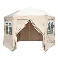 Airwave 3.5m Pop Up Gazebo Hexagonal 17